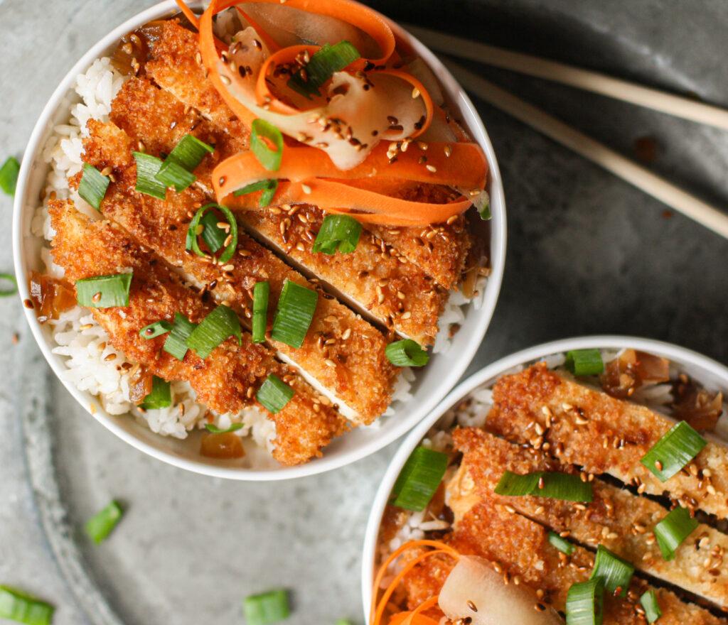 Chicken Katsu Bowls