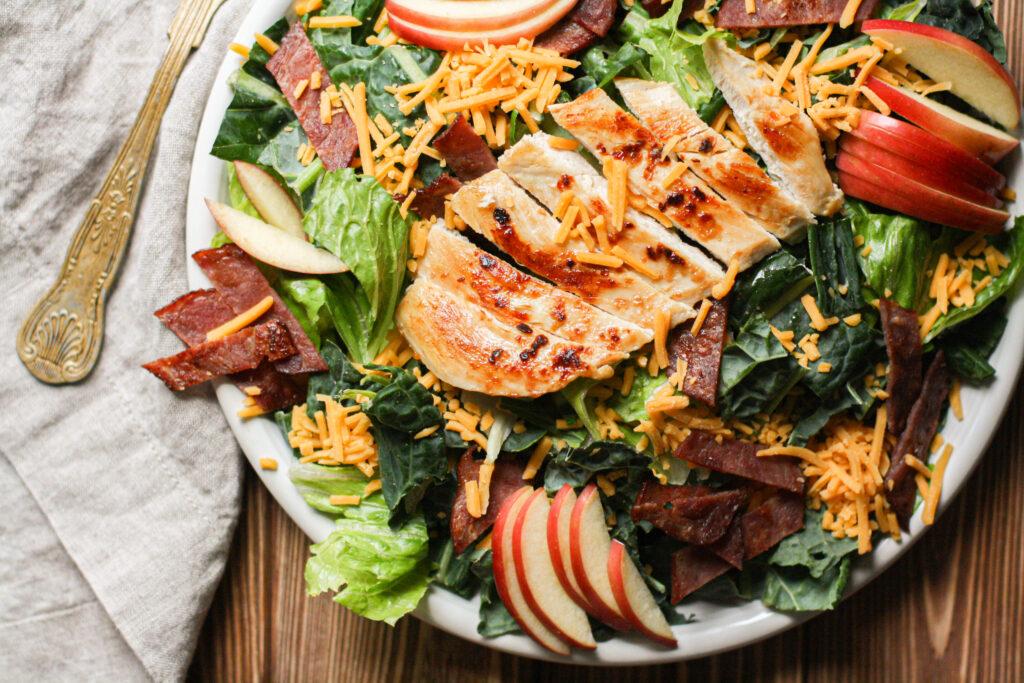 Cheddar Chicken Salad w/Honey Dijon Dressing