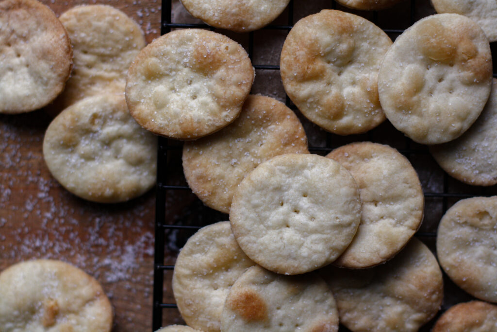 Homemade Butter Crackers