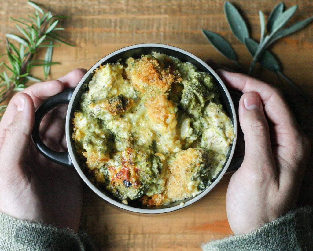 Cheddar, Chicken & Broccoli Bake