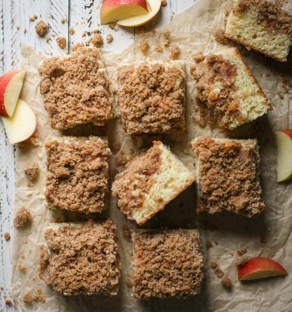 Apple Cinnamon Swirl Coffee Cake