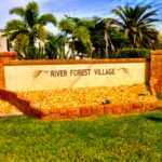 Entrance to River Forest Village
