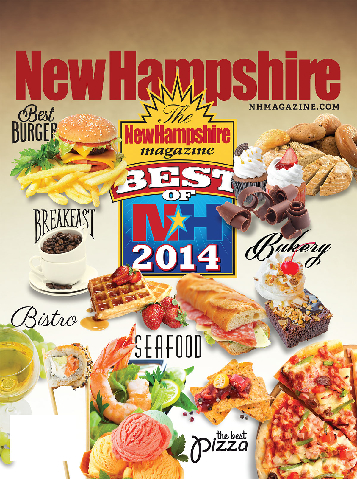 Grinley Creative's Best of NH Cover Design