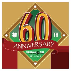 Grinley Creative completes logo design for Sullivan Tire's 60th Annivesary