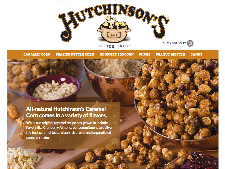 Grinley Creative launches e-commerce website for Hutchinson's Candy