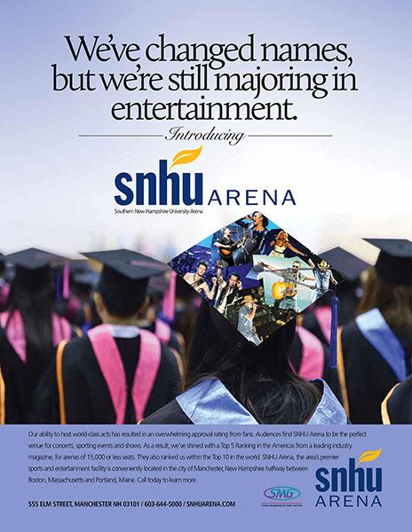 SNHU Arena-Majoring in Entertainment