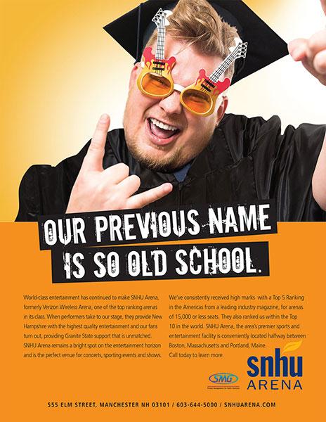 SNHU Arena-Old School