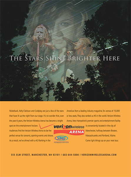 Verizon Wireless Arena-Stars