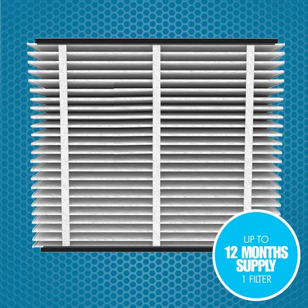 Media air cleaner replacement