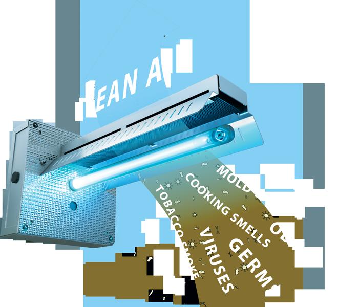 EnviroAir UV helps you breathe cleaner.