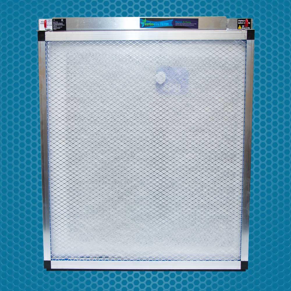 """EnviroAire IAQ 1"""" Polarized Media Air Cleaner"""