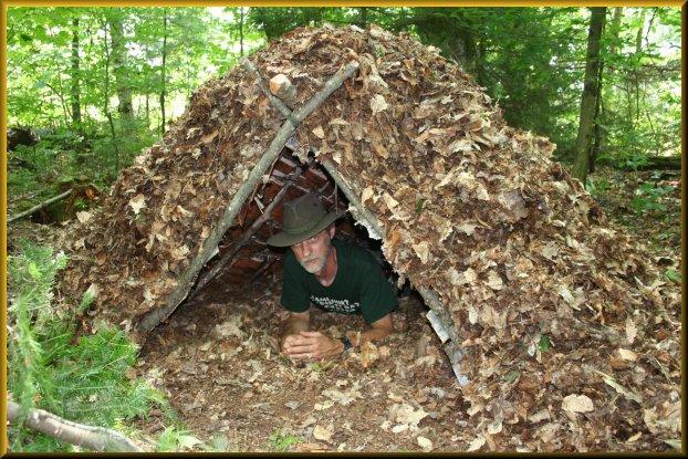 Thumbnail for the post titled: Survival Shelter Basics