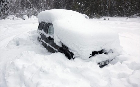 Thumbnail for the post titled: How to Survive Being Snowbound in Your Car