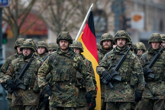 Thumbnail for the post titled: German Military Accused of Purging National Populist Supporting Soldiers