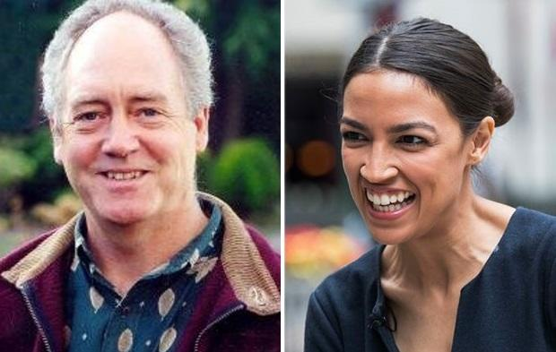 Thumbnail for the post titled: Greenpeace Co-founder Basically Calls Ocasio-Cortez an Idiot