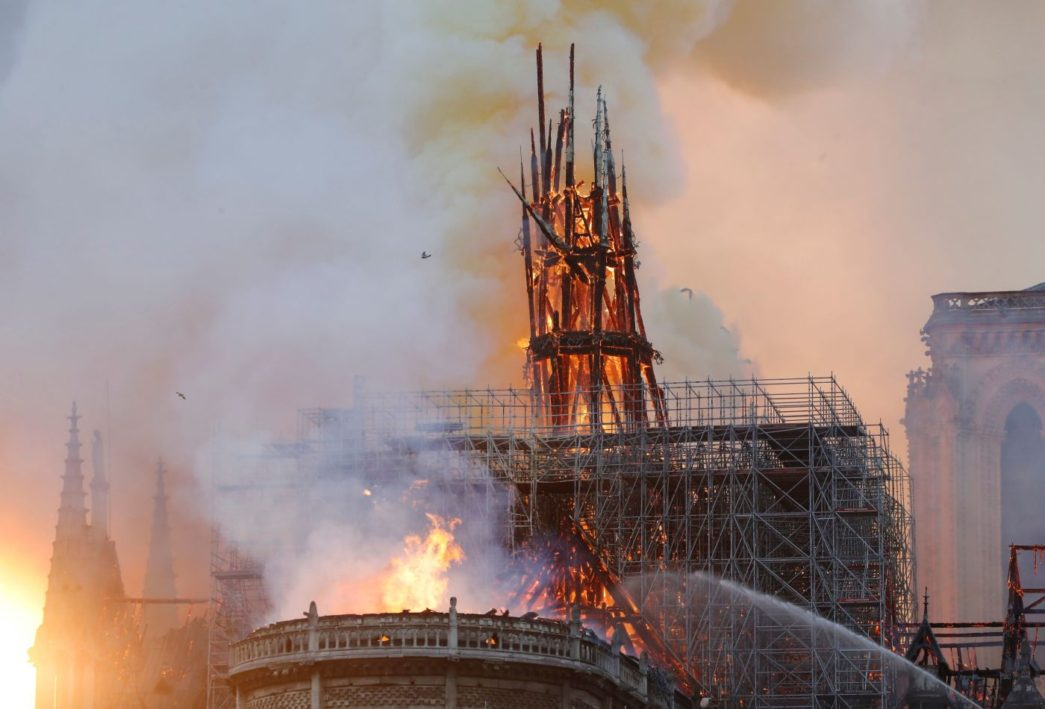 Thumbnail for the post titled: Was Notre Dame Fire Deliberate Attack on Christians?