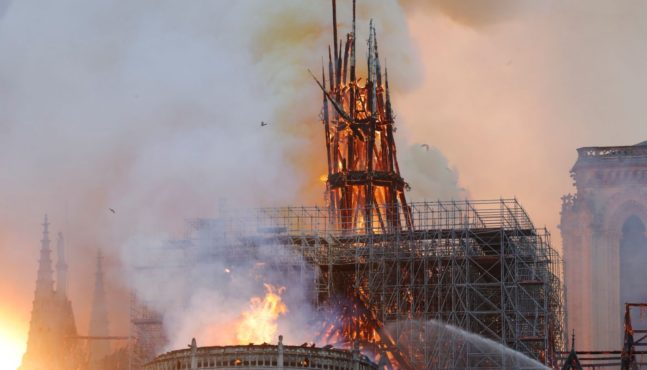 Was Notre Dame Fire Deliberate Attack on Christians?