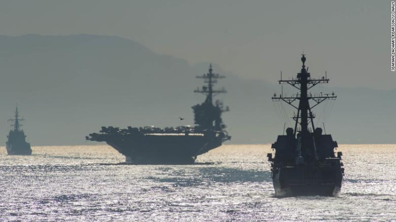 Thumbnail for the post titled: Carrier Group Deployed As Iran Threat Escalates