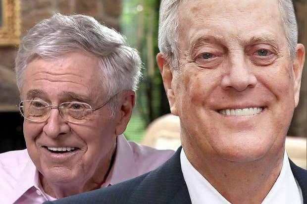 Thumbnail for the post titled: Koch brothers go (further) off the rails