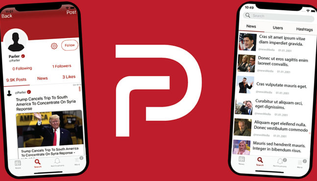 Speaking Freely on Parler