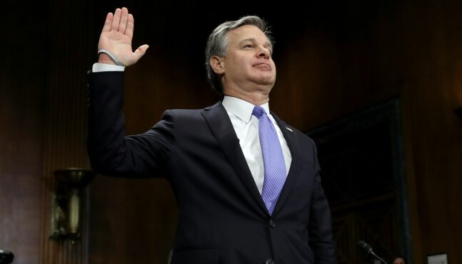 Federal Lawsuit Reveals FBI Director Wray Obstructed Comey Probe