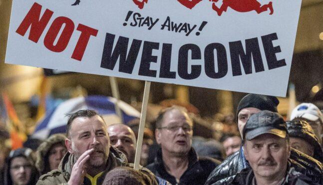African Migrants Harass Germans