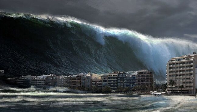 Can Anyone Survive A Tsunami?