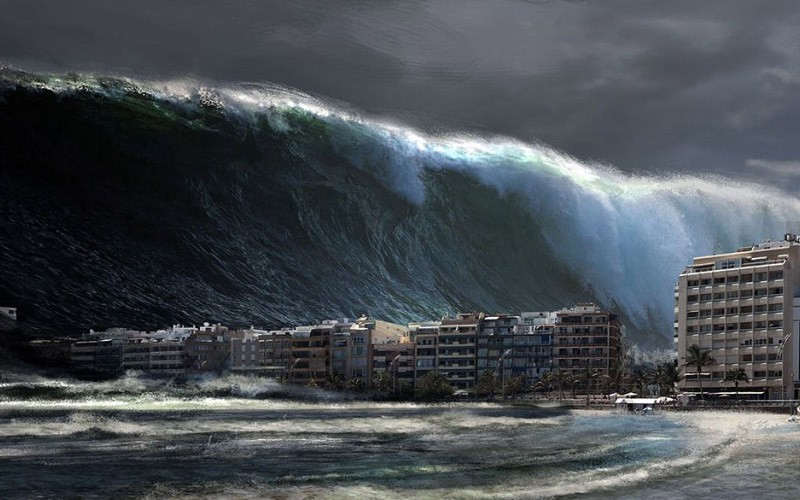 Thumbnail for the post titled: Can Anyone Survive A Tsunami?
