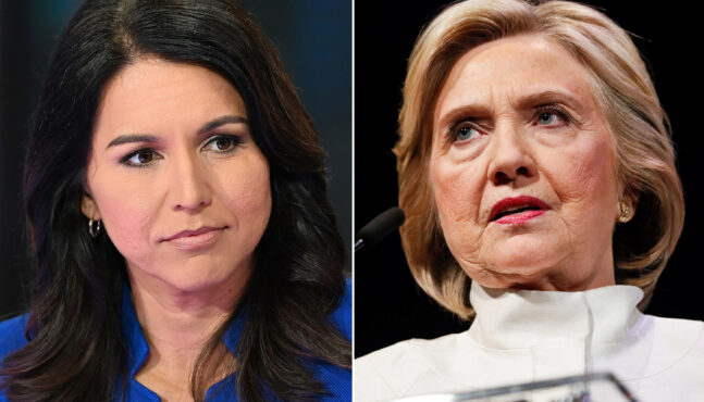"Hillary Clinton: Gabbard a ""Favorite of the Russians"""