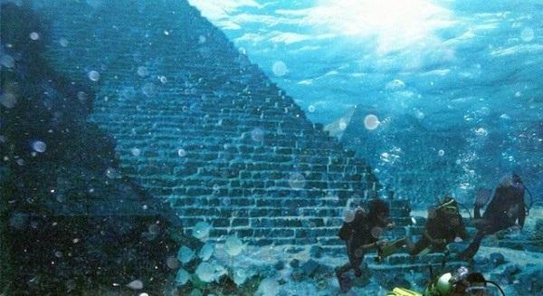 Huge Pyramids Recently Found Underwater