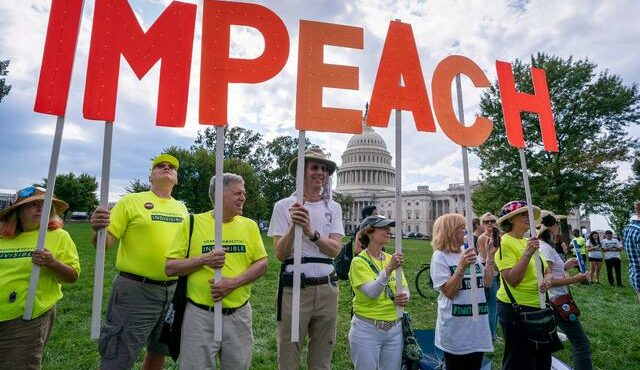 Majority of Americans Now Favor Impeachment Inquiry