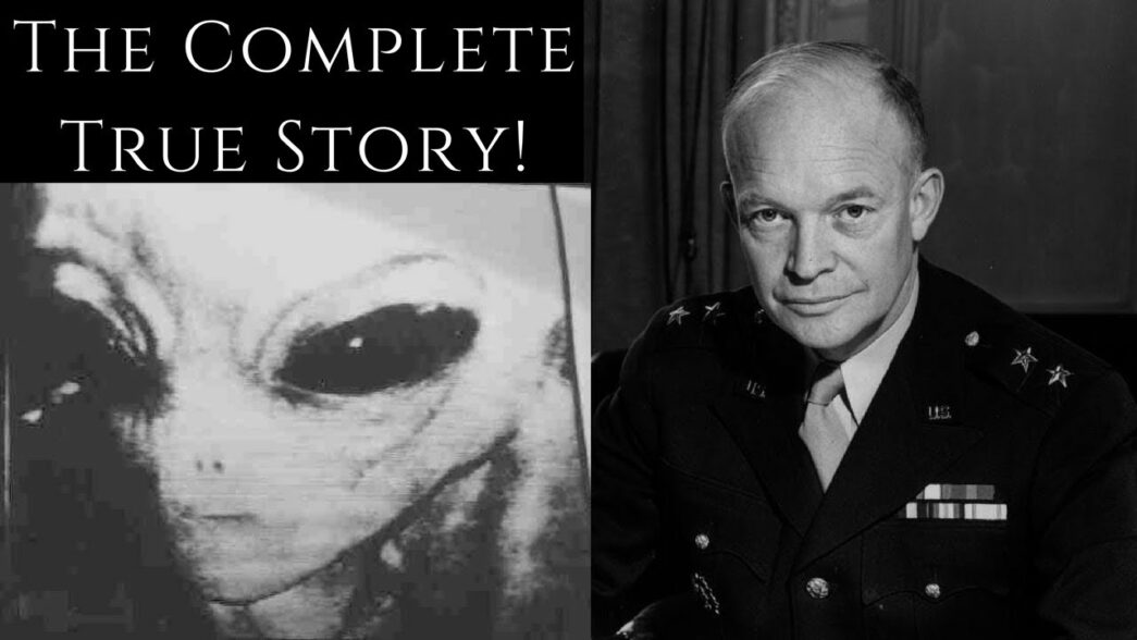 Thumbnail for the post titled: Witnesses Say President Eisenhower Met With ETs