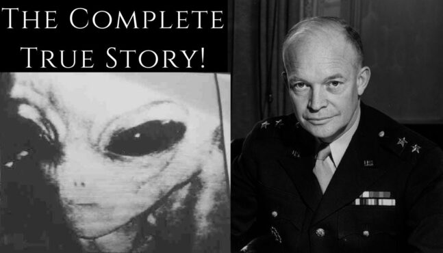 Witnesses Say President Eisenhower Met With ETs
