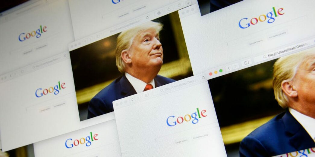 Thumbnail for the post titled: Over 300 Trump Ads Taken Down by Google and YouTube