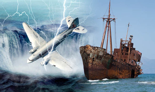 Thumbnail for the post titled: Giant Squid Carcass Solves the Mystery of the Bermuda Triangle?