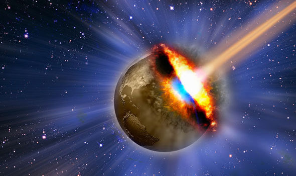 """Thumbnail for the post titled: Did the Bible Predict a """"World Killer"""" Asteroid Strike"""