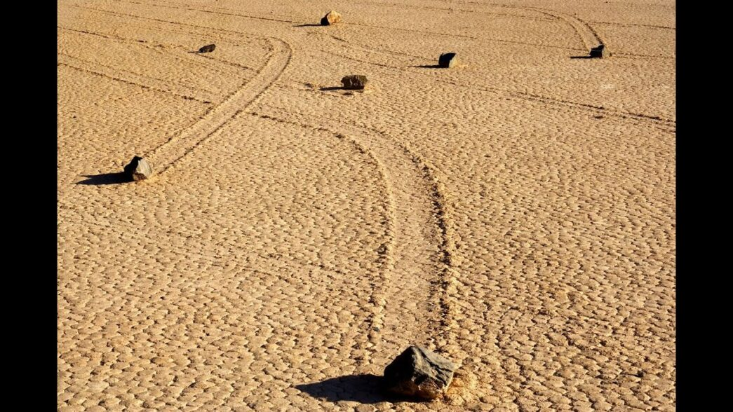 Thumbnail for the post titled: Has The Mystery of the Sailing Stones Been Solved?