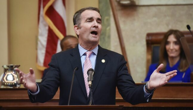 Northam Declares State of Emergency Against Law Abiding Citizens