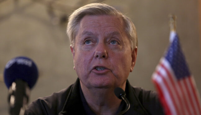 "Senator Graham: ""All Witnesses or No Witnesses"""