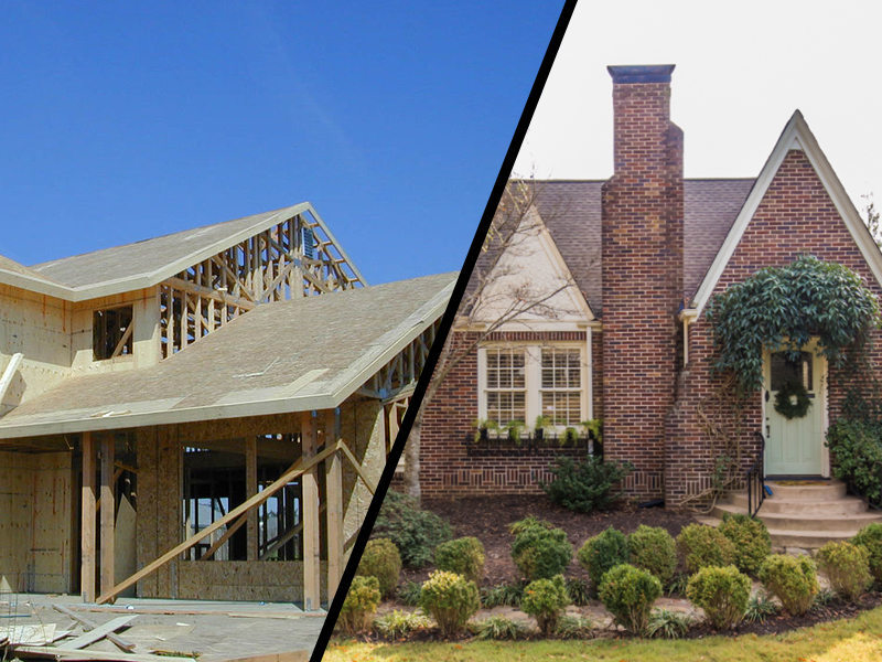 Thumbnail for the post titled: Buying a New House vs. an Old House: Pros and Cons