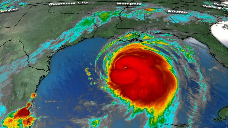 Thumbnail for the post titled: Hurricane Laura to Bring 'Unsurvivable' Storm Surge, 'Catastrophic Damage'