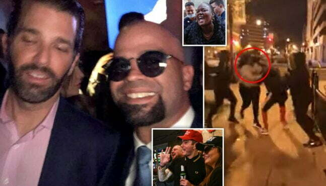 Four Proud Boys Stabbed by BLM in DC?