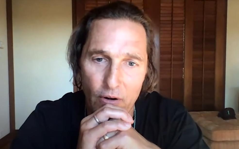 Thumbnail for the post titled: Matthew McConaughey Slams Liberal Hollywood