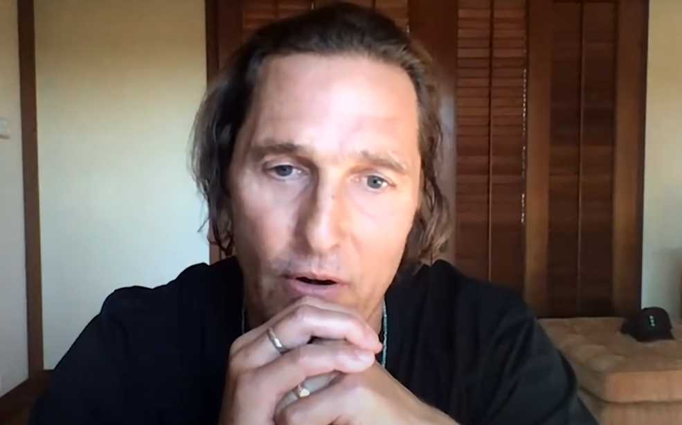 Thumbnail for the post titled: Matthew McConaughey Slams Liberal Hollywood