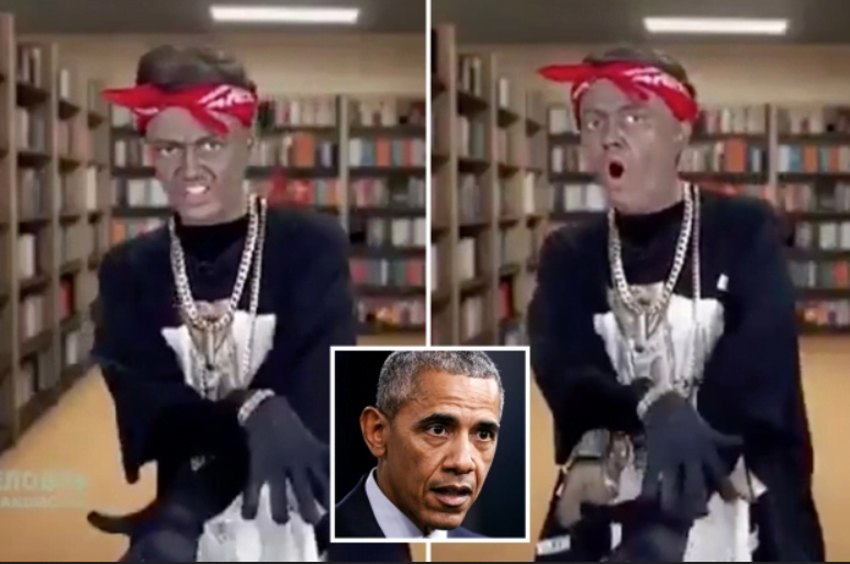 Thumbnail for the post titled: Obama Skit on Russian TV Sparks Outrage