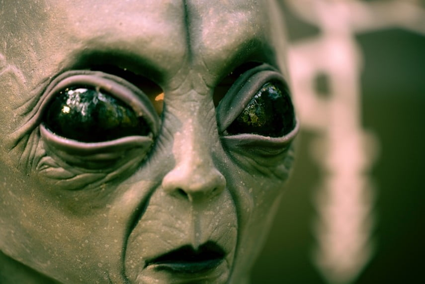 Thumbnail for the post titled: Trump Knows Aliens Exist – Will He Tell Us?