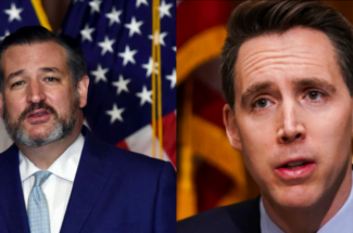 Thumbnail for the post titled: Call for Disbarment Proceedings Against Cruz and Hawley