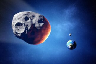 """Thumbnail for the post titled: """"Potentially Hazardous"""" Asteroid Passing Earth Next Month"""