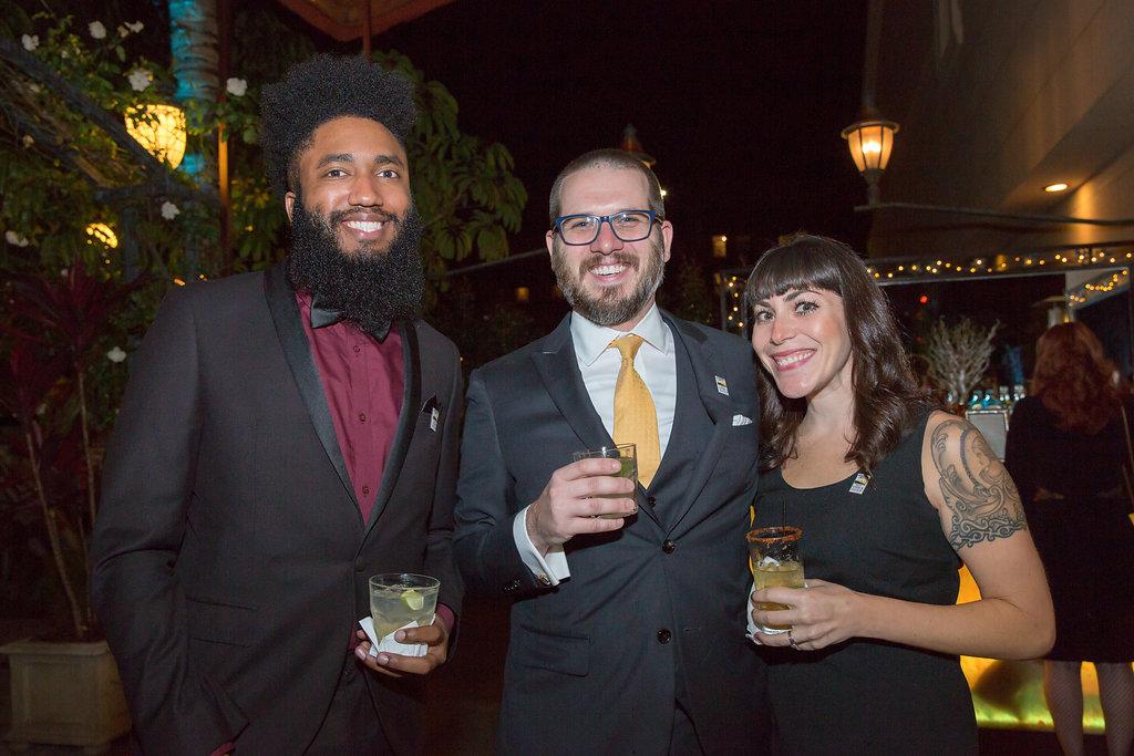 Terence Johnson, David Bax, and Natalie Schaffer