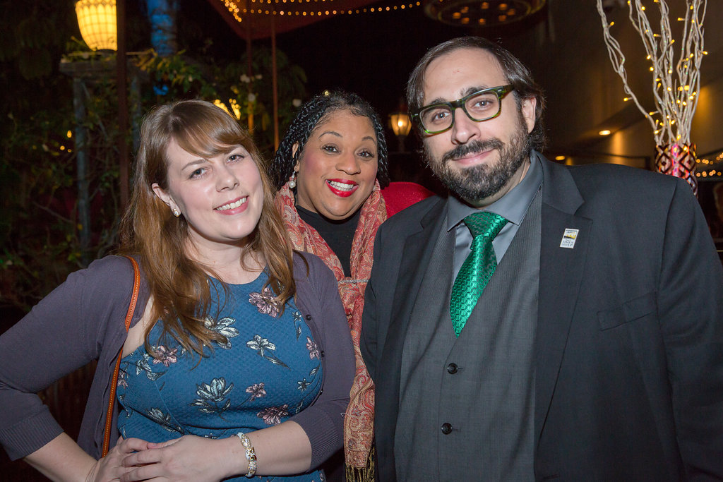 Kitra Lane Remick, Magnolia Pictures Rep, and Peter Sciretta